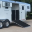 "58 1/2"" x 60"" Wide Side Ramp w/ Dutch Door w/ Window at CS-1"