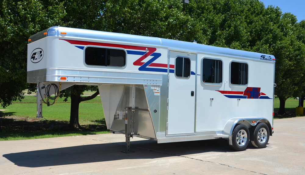 Runabout Gooseneck Horse Trailers