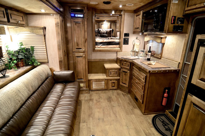 Living Quarters 4 Star Trailers. Horse Trailer Interiors Best Accessories  Home 2017